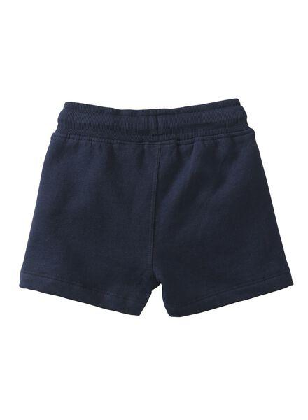 baby korte broek donkerblauw - 1000007995 - HEMA