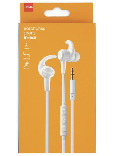 oortelefoon in-ear sport - 39630083 - HEMA