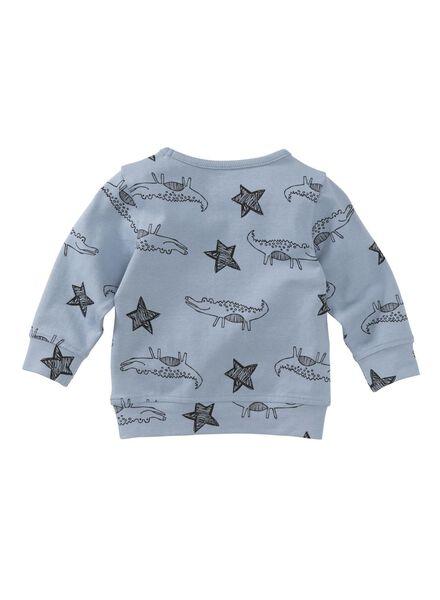 baby sweater blauw blauw - 1000004691 - HEMA