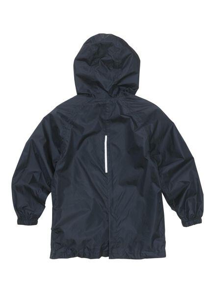 opvouwbare kinder regenjas donkerblauw donkerblauw - 1000013166 - HEMA
