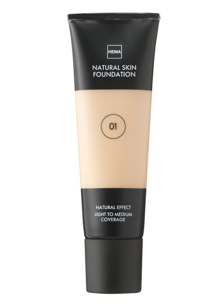 natural skin foundation Rose 01 - 11291001 - HEMA