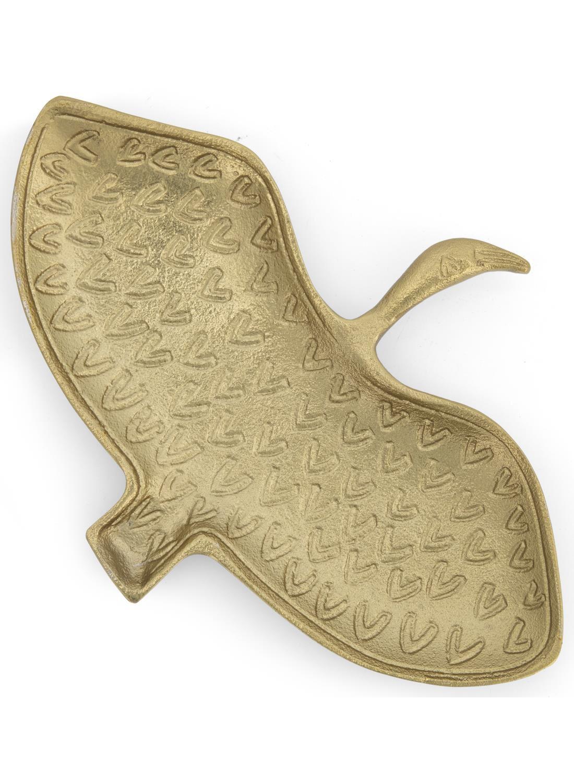 HEMA Sieradenschaaltje - 14.5 X 21 - Goud Ibis (goud)