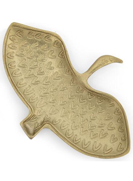 sieradenschaaltje - 14.5 x 21 - goud ibis - 13392015 - HEMA