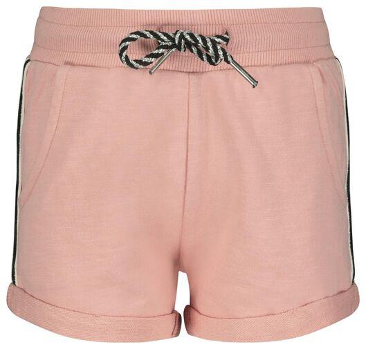 kinder sweatshort roze - 1000023147 - HEMA