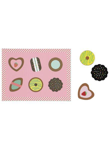 houten bonbon set - 15110171 - HEMA