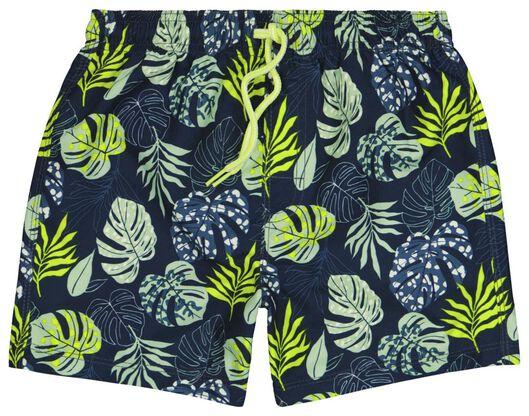 kinder zwemshort bladeren groen groen - 1000023857 - HEMA
