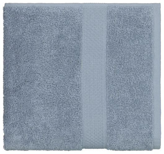 handdoek - 50 x 100 cm - zware kwaliteit - ijsblauw - 5290072 - HEMA