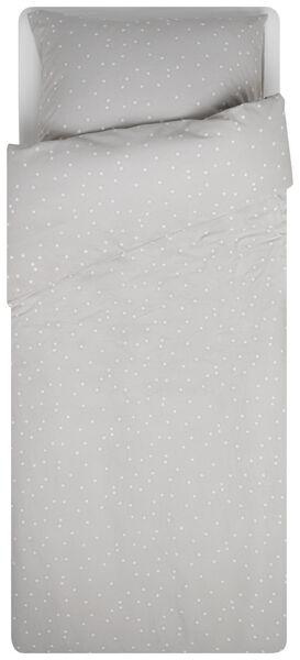 kinderdekbedovertrek 140x200 - zacht katoen - sterren - 5710172 - HEMA