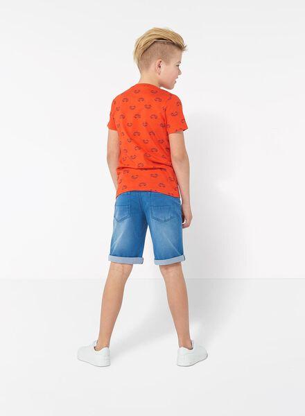 kinder t-shirt oranje oranje - 1000013286 - HEMA