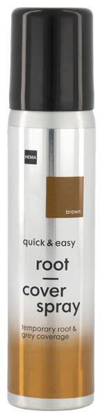 uitgroei spray bruin - 11050045 - HEMA