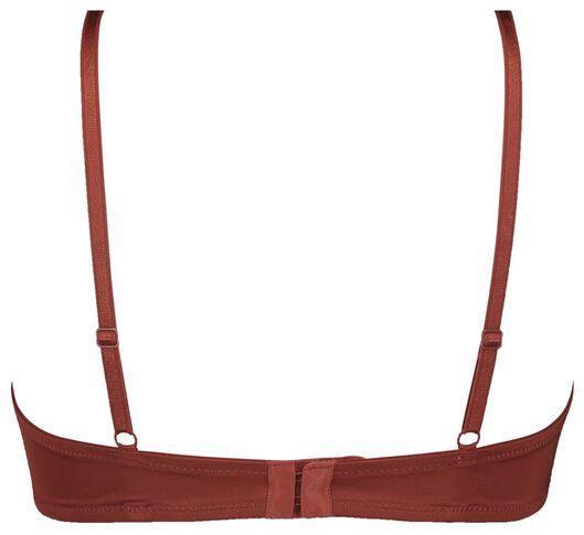t-shirt beugel bh micro recycled rood rood - 1000020735 - HEMA