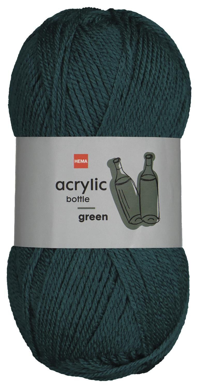 HEMA Garen Acryl 100gram Groen (donkergroen)
