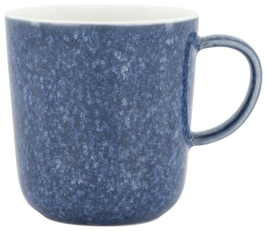 mok Chicago 280 ml - reactief glazuur - blauw - 9602158 - HEMA