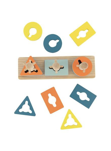 houten stapelpuzzel - 15122226 - HEMA