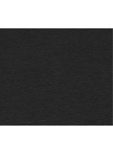 damessinglet biologisch katoen zwart M - 36316073 - HEMA