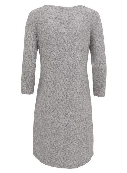 dames nachthemd donkergrijs donkergrijs - 1000009119 - HEMA