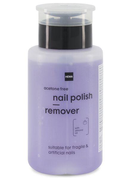 milde nagellak remover pomp - 200 ml - 11243083 - HEMA