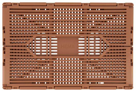 klapkrat letterbord recycled 20x30x11.5 licht terra terra 20 x 30 x 11,5 - 39821073 - HEMA