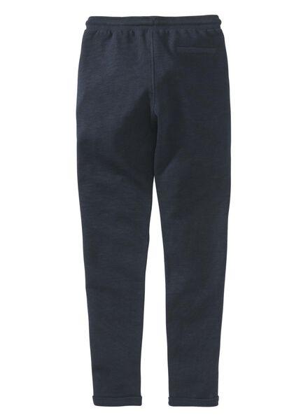 kinder sweatbroek donkerblauw - 1000008403 - HEMA