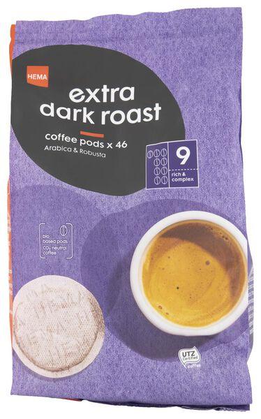 koffiepads extra dark roast - 46 stuks - 17150004 - HEMA
