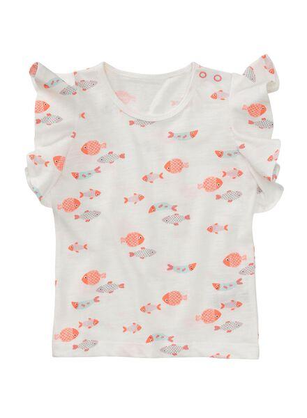 baby t-shirt gebroken wit gebroken wit - 1000007209 - HEMA