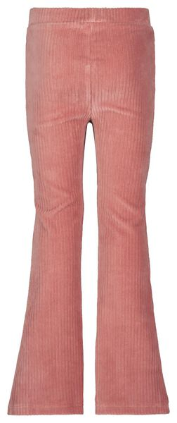 kinderbroek flared roze 158/164 - 30840769 - HEMA