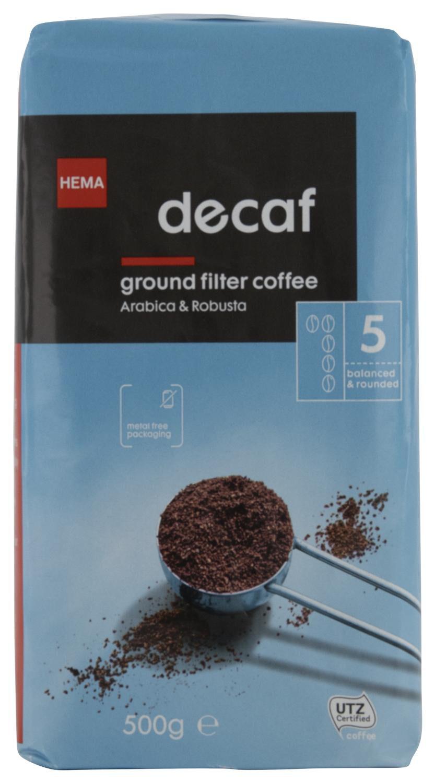 HEMA Filterkoffie Decaf - 500 Gram