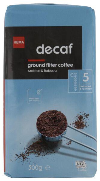 filterkoffie decaf - 500 gram - 17170004 - HEMA
