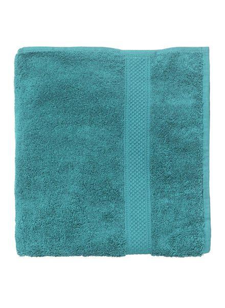 handdoek - 70 x 140 cm - zware kwaliteit - donkergroen uni groen handdoek 70 x 140 - 5240024 - HEMA