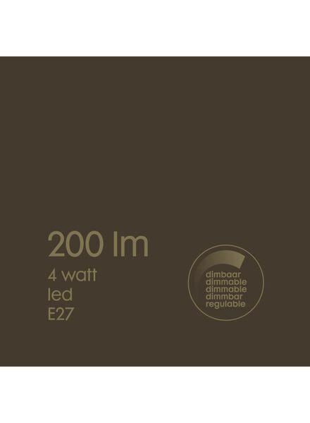 LED lamp 4W - 200 lm - edison - goud - 20020076 - HEMA