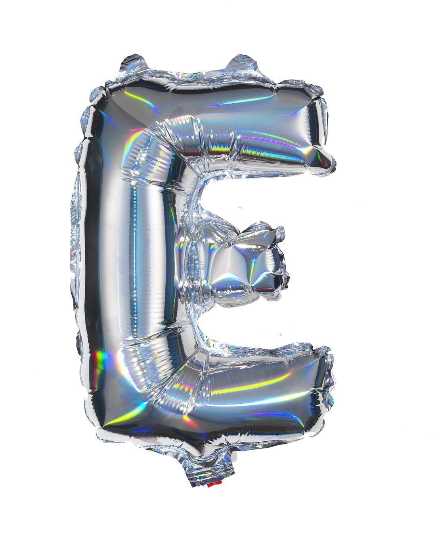 HEMA Folieballon E - Zilver (multi)