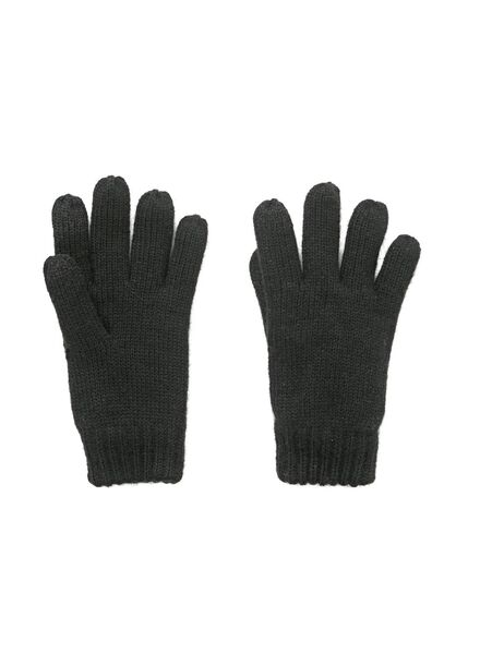 kinderhandschoenen zwart 158/164 - 16708115 - HEMA