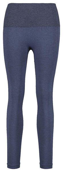 dames sportlegging figuurcorrigerend blauw blauw - 1000019848 - HEMA