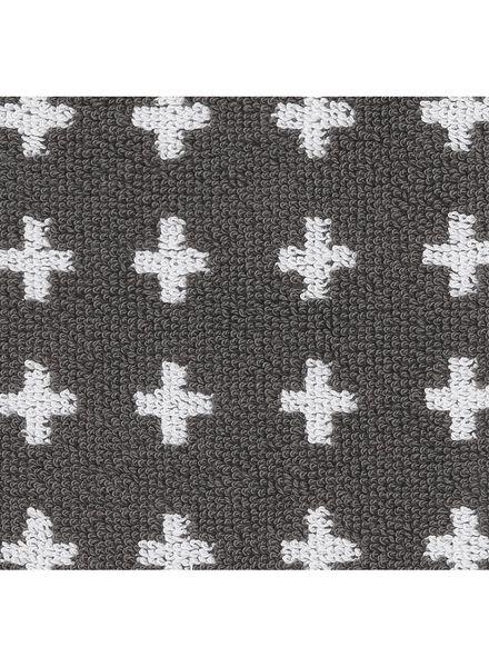 handdoek - 50 x 100 - zware kwaliteit - grijs plus - 5210034 - HEMA
