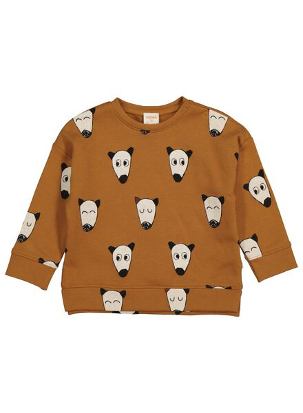 babysweater bruin bruin - 1000014255 - HEMA