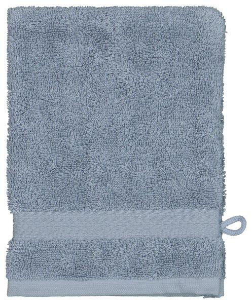 washand - zware kwaliteit - ijsblauw - 5290070 - HEMA