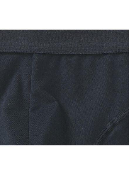 2-pak herenboxers kort donkerblauw donkerblauw - 1000009094 - HEMA