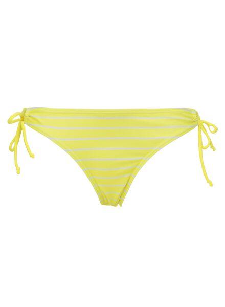 dames bikinislip geel geel - 1000009069 - HEMA