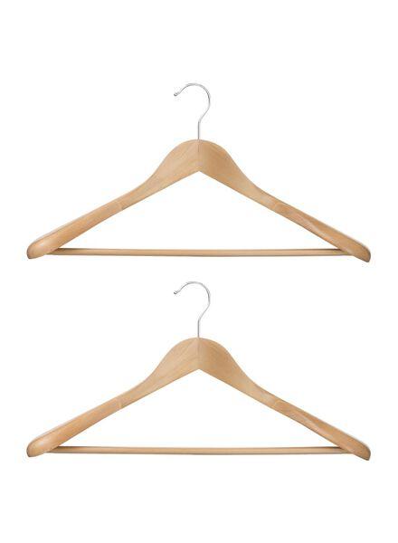 2-pak kledinghangers - 39811015 - HEMA