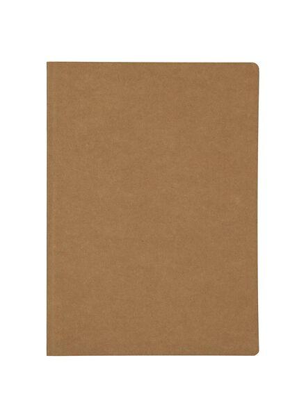 2-pak schriften A4 ruit 10 mm - 14522394 - HEMA