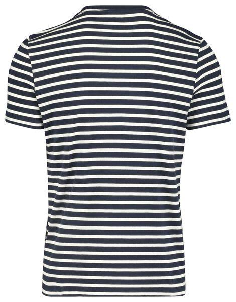 heren t-shirt donkerblauw donkerblauw - 1000018194 - HEMA