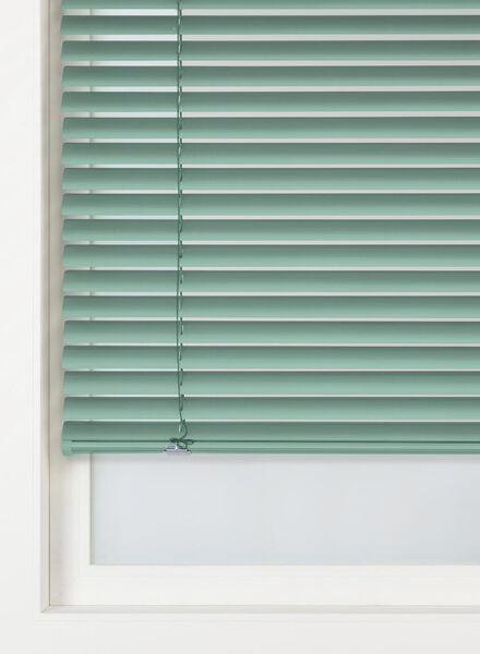 jaloezie aluminium zijdeglans 25 mm groen aluminium zijdeglans 25 mm - 7420088 - HEMA