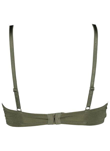 padded bh micro kant groen groen - 1000014485 - HEMA