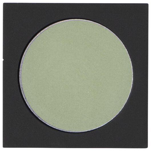oogschaduw mono satin 11 grashopper green groen navulling - 11210311 - HEMA