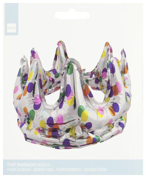 folieballon kroon Ø 20 cm - 14230269 - HEMA