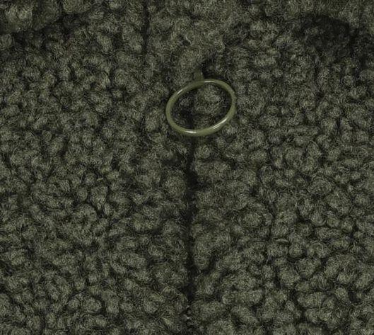 teddy kinderjas legergroen legergroen - 1000020116 - HEMA