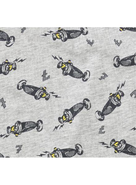 2-pak kindershortama's grijsmelange grijsmelange - 1000011763 - HEMA