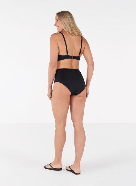 dames bikinitop padded met beugel D+ zwart zwart - 1000011805 - HEMA