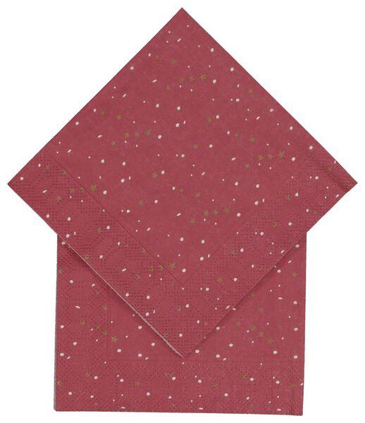 servetten 24 x 24 - 20 stuks - 25600012 - HEMA