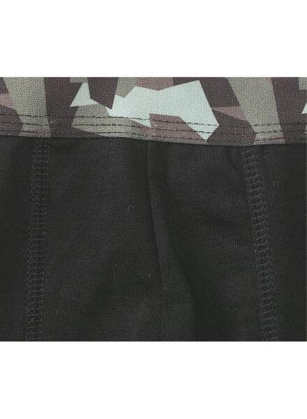 3-pak herenboxers kort legergroen legergroen - 1000009102 - HEMA